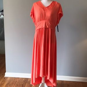 Apt 9 Coral Medley Dress XL NWT